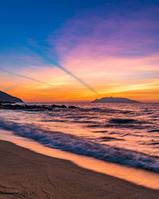 鹿児島県 永田いなか浜の夕景