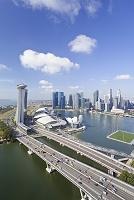 シンガポール マリーナベイ 俯瞰