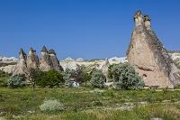 トルコ カッパドキアのキノコ岩