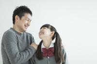 日本人の父親と娘