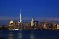 ニューヨーク マンハッタン ワン・ワールド・トレードセンター...