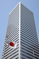 大阪府 ツイン21 日本国旗