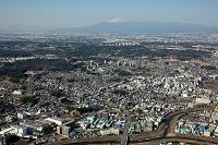 中山駅(横浜線)周辺より富士山