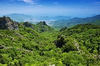 香川県 新緑の寒霞渓