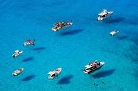 イタリア ランペドゥーサ島とボート