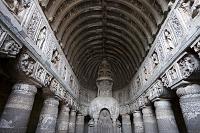 アジャンタ石窟 第19窟 ストゥーバ 世界遺産