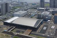 東京都 有明体操競技場 建設風景