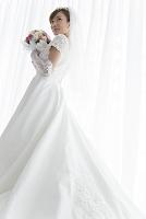 微笑む花嫁