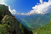スイス 山並み