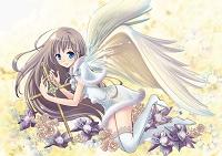 十字架と天使