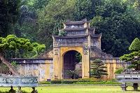 ベトナム タンロン遺跡の城門