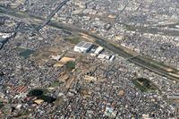 大阪府 空から見た古市古墳群