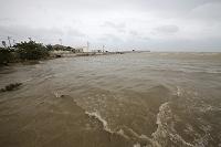 沖縄県 石垣島 海に流れ込む赤土