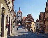 ドイツ 中世の街並ローテンブルクにて