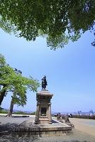 宮城県 青葉城(仙台城跡) 伊達政宗騎馬像