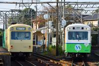 三重県 四日市あすなろう鉄道 日永駅 行き違いする260系普通電車