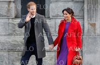 ヘンリー英王子夫妻、バーケンヘッドを訪問