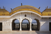 インド アーグラ城塞 ローシャン・アラの館(ゴールデン・パビ...