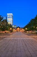 東京駅 丸の内駅舎の夜景