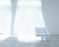 リビングルームに置かれた椅子 CG