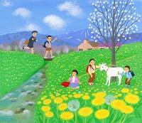 春の光, 野に満ちて