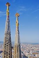 スペイン バルセロナ サグラダ・ファミリア
