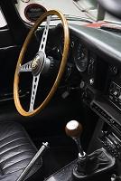 車のインテリア Jaguar E-type