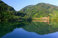 富山県 飛越峡合掌ライン
