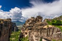 ギリシャ ギリシア メテオラ 修道院