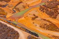アメリカ合衆国 デュランゴ・アンド・シルバートン狭軌鉄道