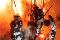 愛知県 鳥羽の火祭り