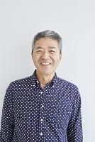 シニアの日本人男性