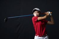 女子ゴルフ選手