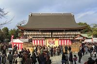京都府 京都市 八坂神社 舞殿