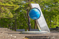 岩手県 北緯40度のシンボル塔