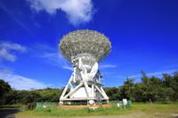 東京都 小笠原諸島 父島 VERA小笠原観測局の電波望遠鏡