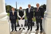 日米豪印 「クアッド」首脳が初の直接会合