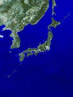 日本列島衛星画像