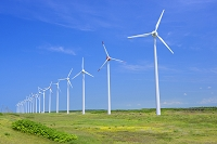 北海道 幌延風力発電(オトンルイ風力発電所)