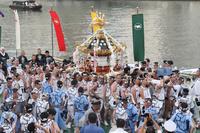 住吉神社例祭 宮神輿宮出し