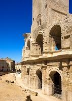 フランス アルル 古代ローマ円形闘技場