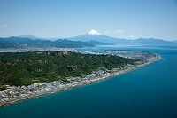 日本平 久能山より富士山と駿河湾
