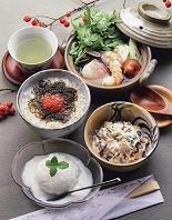 ローカロリーな和食のコース料理