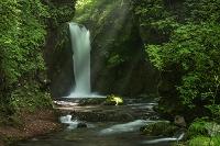 長野県 軽井沢 竜返しの滝