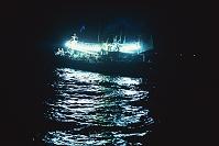 北海道 函館市 イカ漁