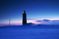 北海道 能取岬灯台の朝