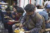 インド・カルカッタ 食堂