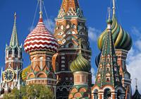 ロシア モスクワ 聖ワシリイ大聖堂