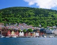 ノルウェー ベルゲン ベルゲン・ブリッゲン地区