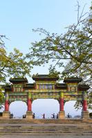 中国 肇慶市 七星岩牌坊広場